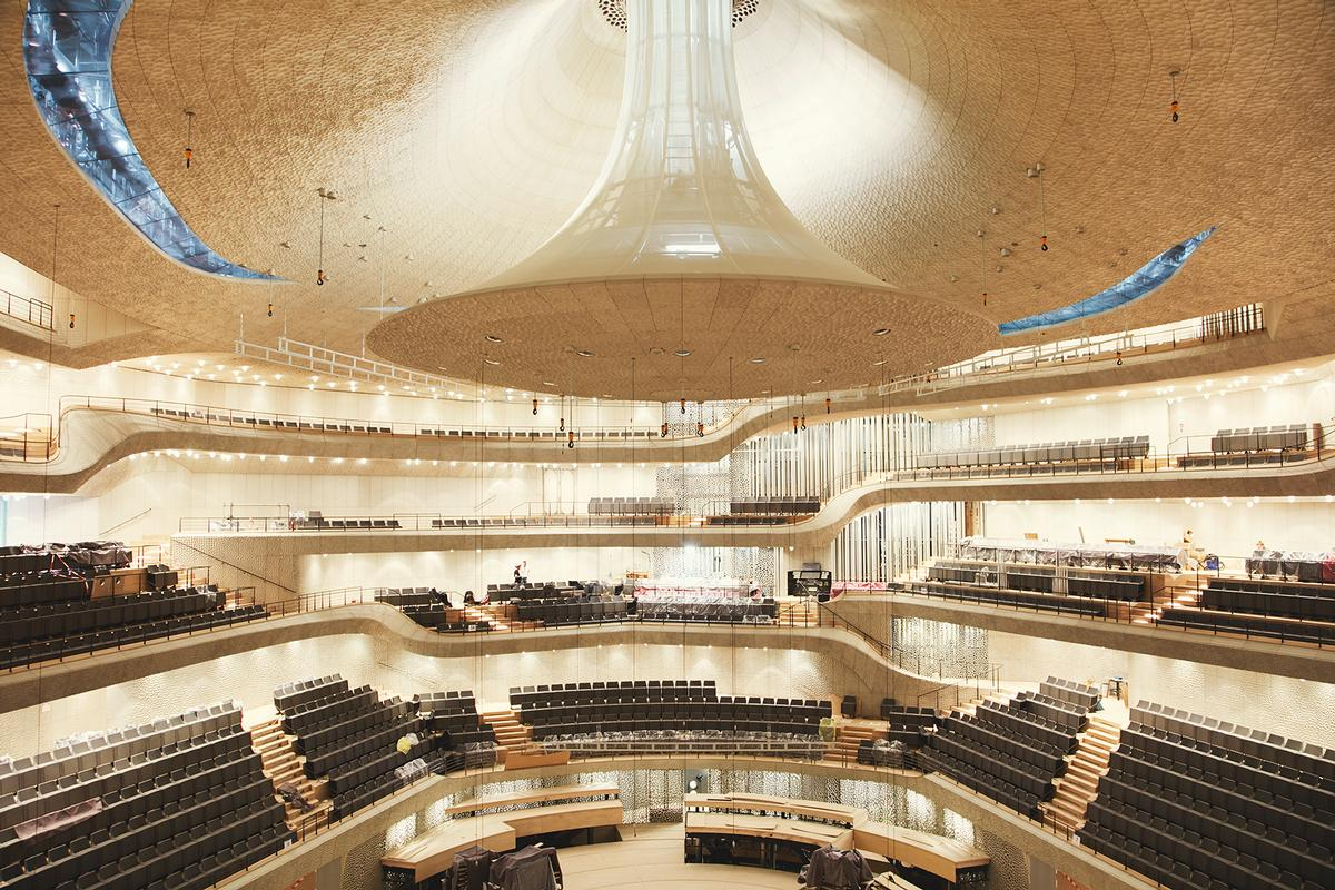 The building's main concert hall will open in January / Maxim Schulz