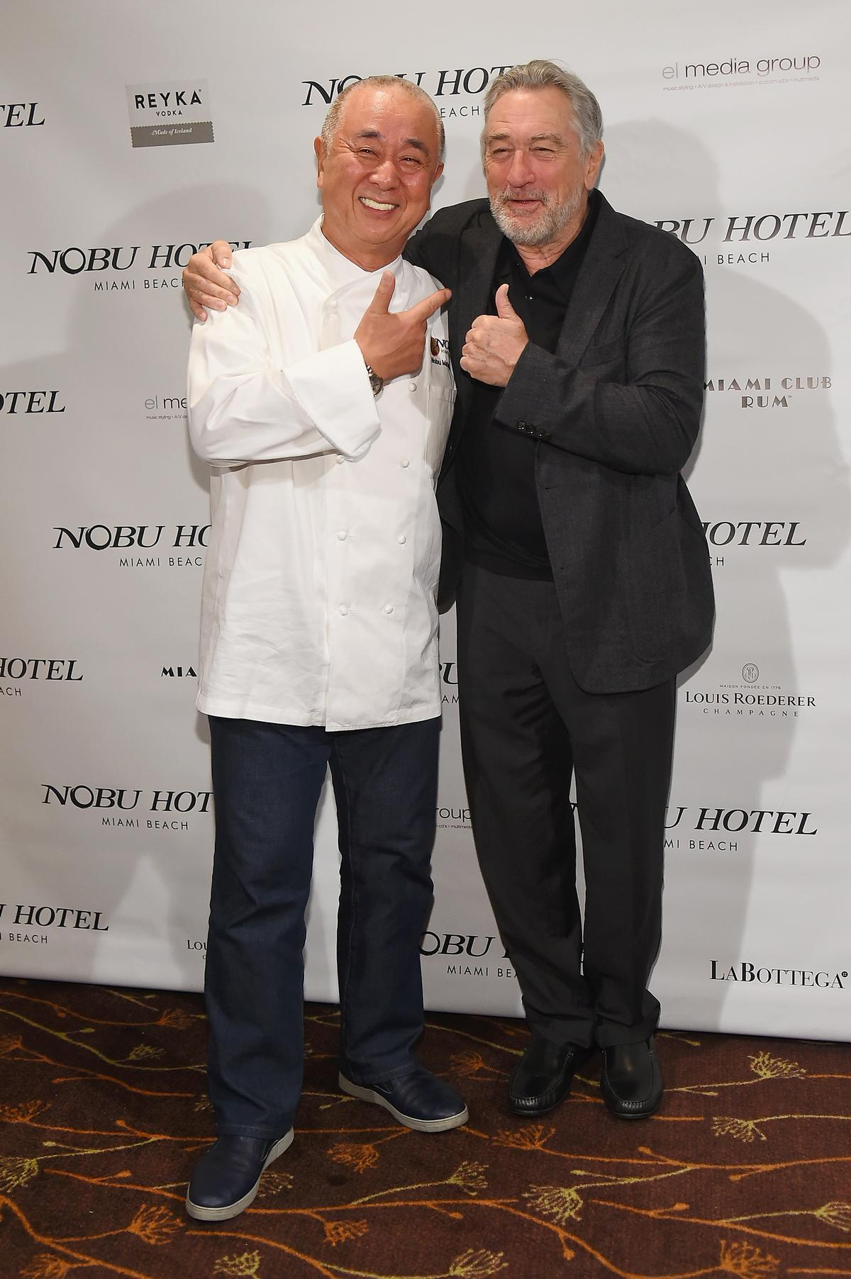 Several other Nobu projects have previously opened / Joe Schildhorn, Ben Gabbe