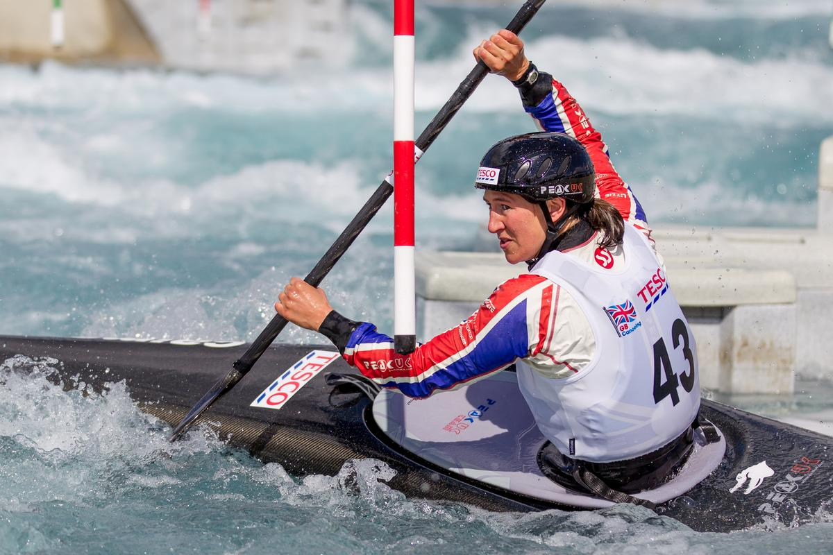 The centre will train Britain's elite canoe athletes