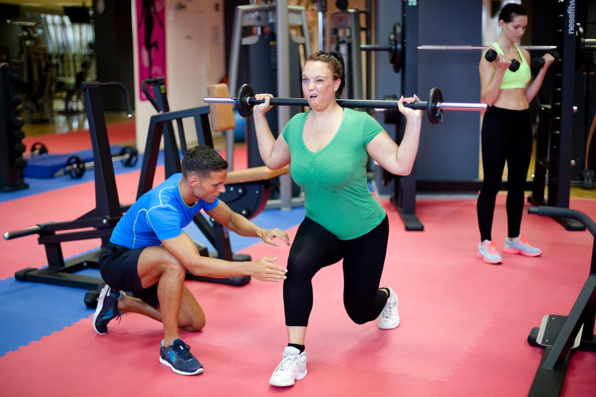 The report states the majority of fitness staff hasn't been adequately educated to deal with special populations – such as overweight clients
