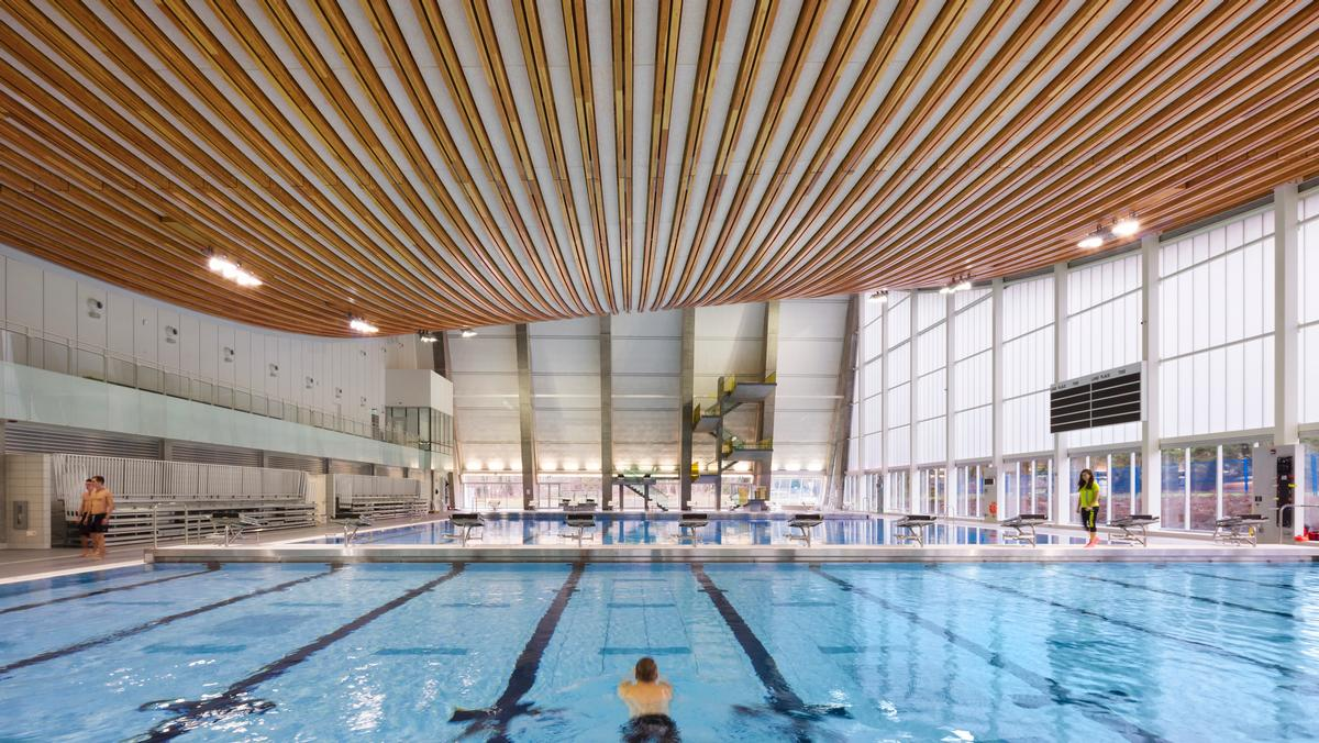 The Supreme Award for Structural Engineering Excellence went to The Grandview Heights Aquatic Centre in Surrey, Canada / HCMA Architecture + Design