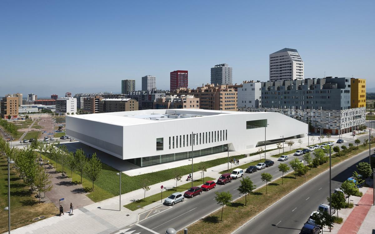 Salburua Civic Center by IDOM / WAF