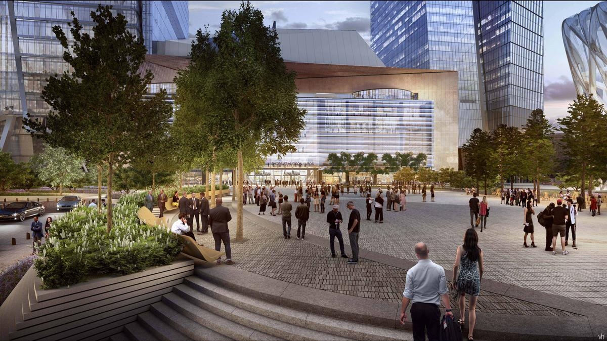 Hudson Yards masterplan by Kohn Pederson Fox / WAF