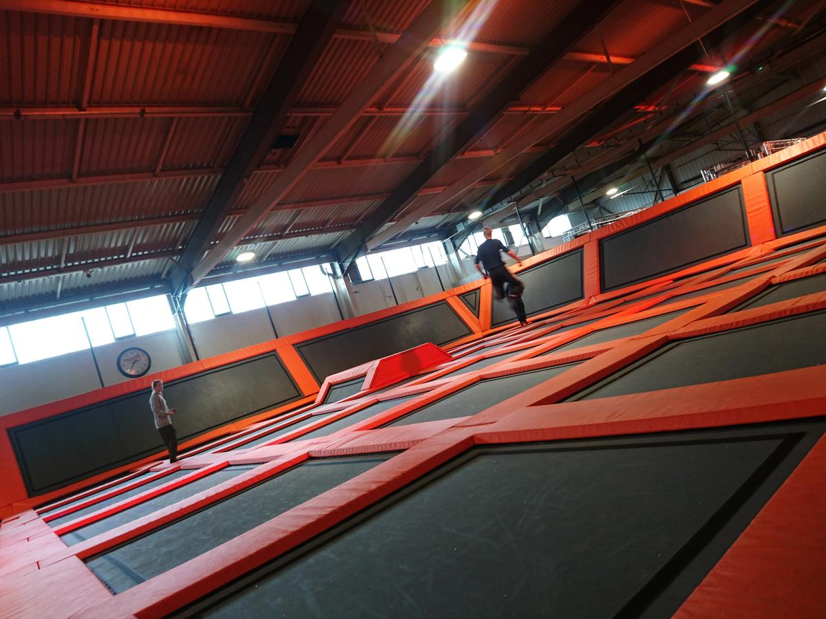 Rebound Leisure Group has invested £3.1m in the 31,000 sq ft trampoline centre