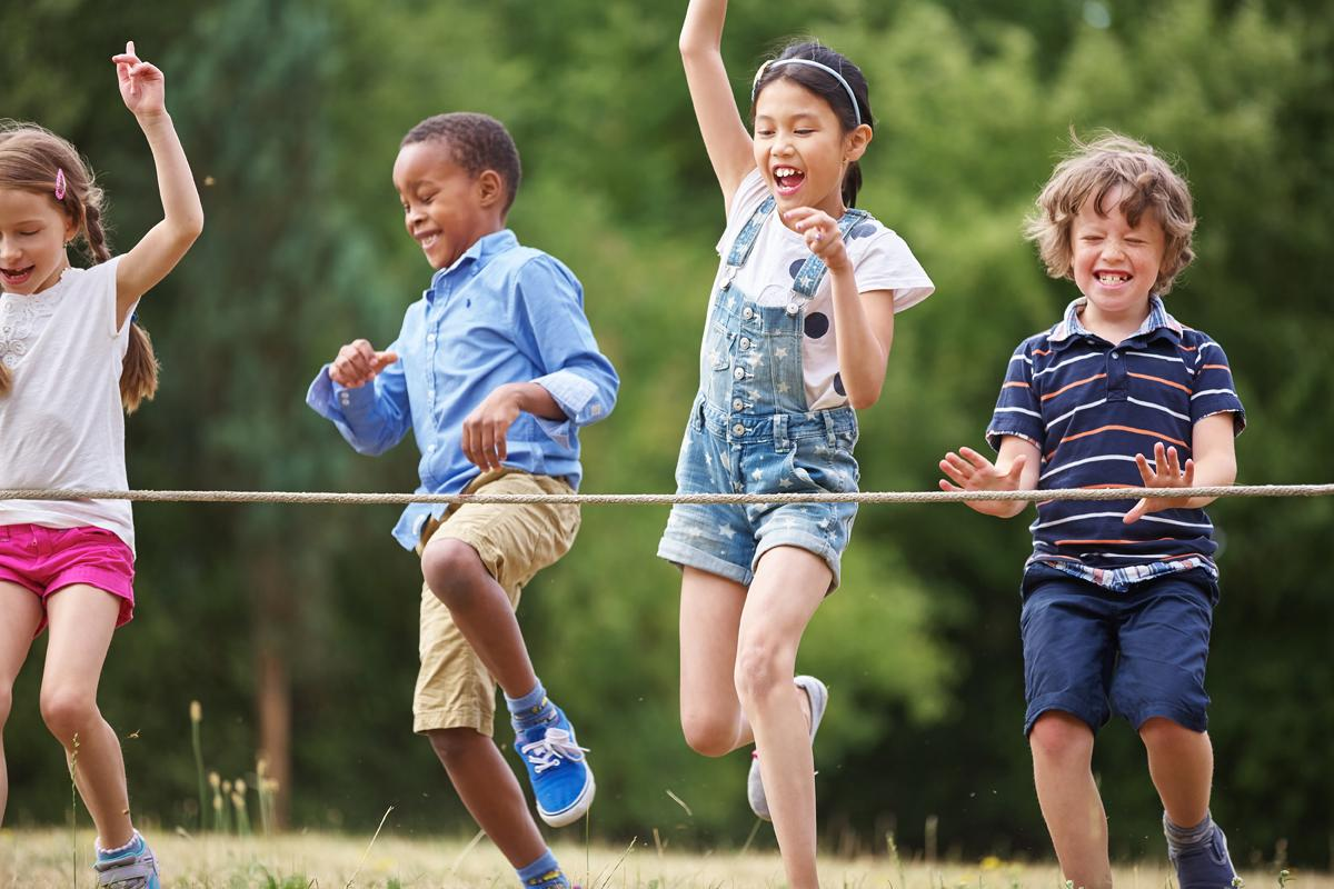 Less than 20 per cent of children in England are doing the required level of physical activity / Robert Kneschke/Shutterstock.com