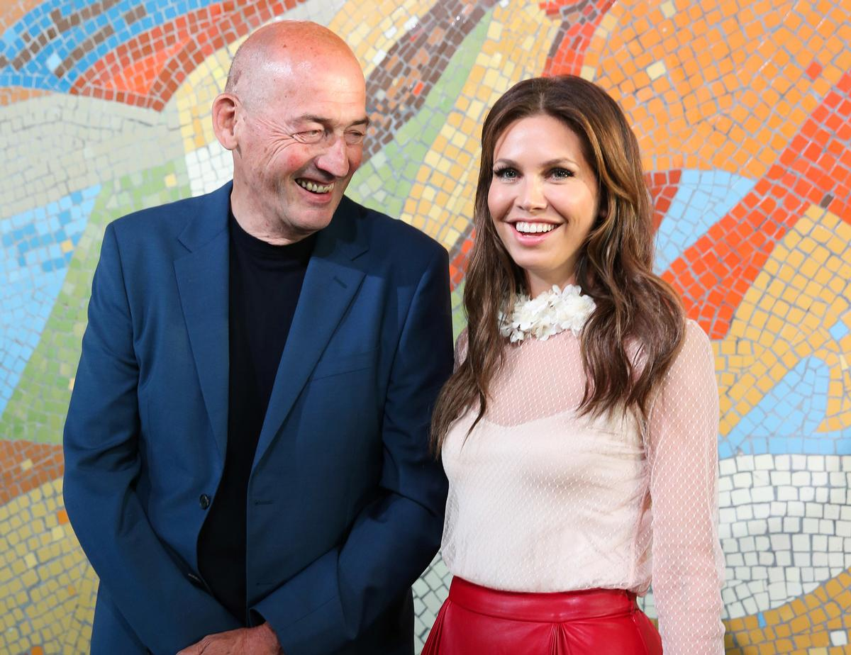 Architect Rem Koolhaas and founder Dasha Zhukova at the museum's official opening / Garage Museum of Contemporary Art