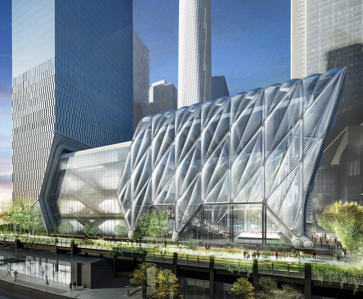 Currently under construction on the far west side of Manhattan, The Shed will be housed in a 200,000sq ft building / Diller Scott + Renfro