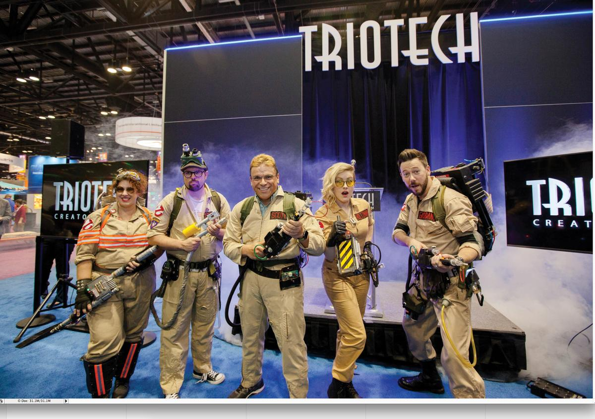 IAAPA 2016: Triotech announces Ghostbusters dark ride for