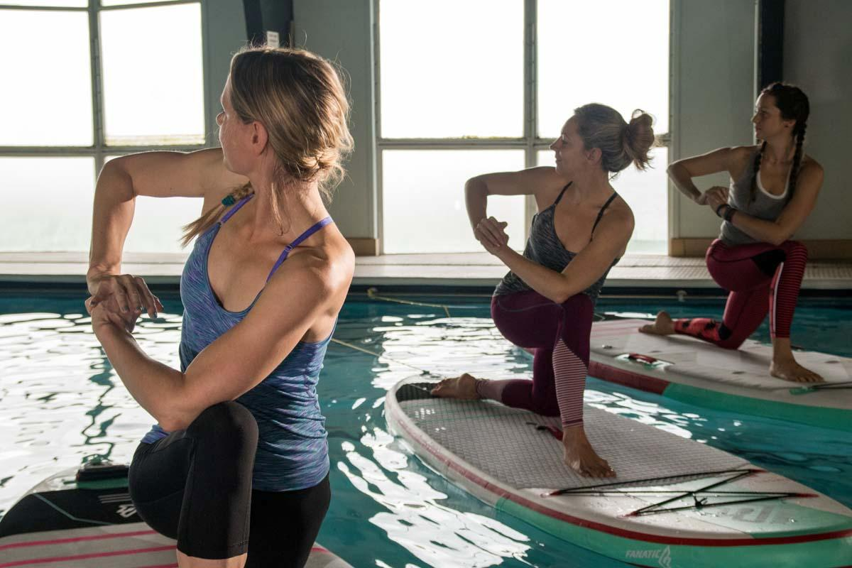 A qualification for teaching stand up paddleboarding has been created
