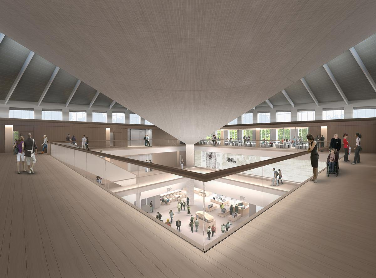 The interior vision, imagined by British architect John Pawson, will include provision of new galleries with space for one permanent and two temporary exhibition areas / John Pawson