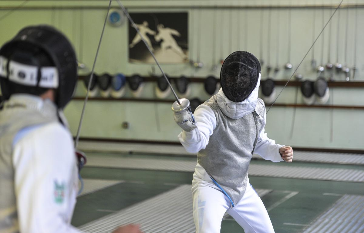 The seven sports receiving extra funding include fencing