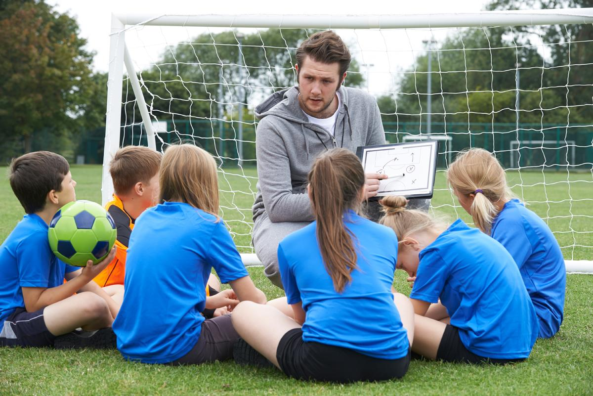 According to Sport England, a third of inactive people who be encouraged if they had a good coach / SpeedKingz/Shutterstock.com