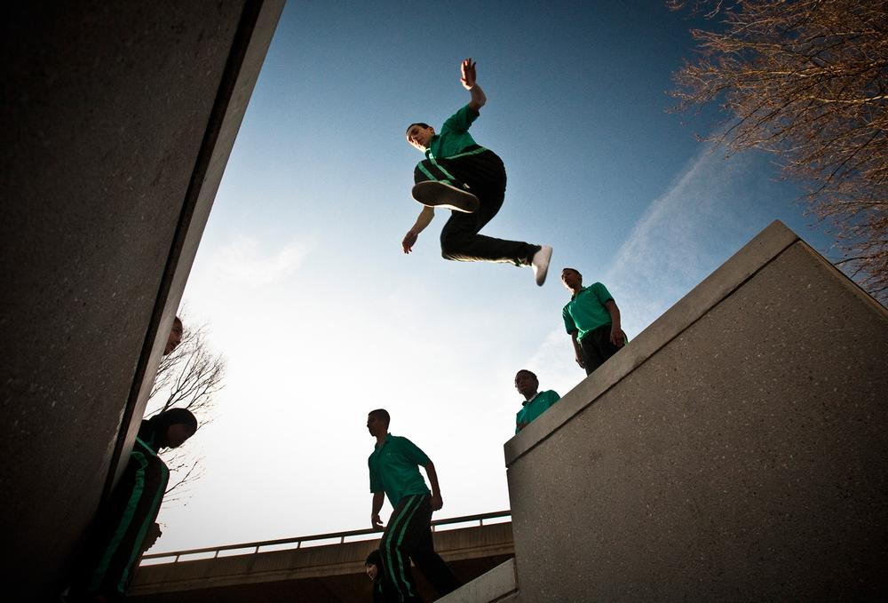 An increasing amount of the overall parkour activities are now organised by clubs and associations