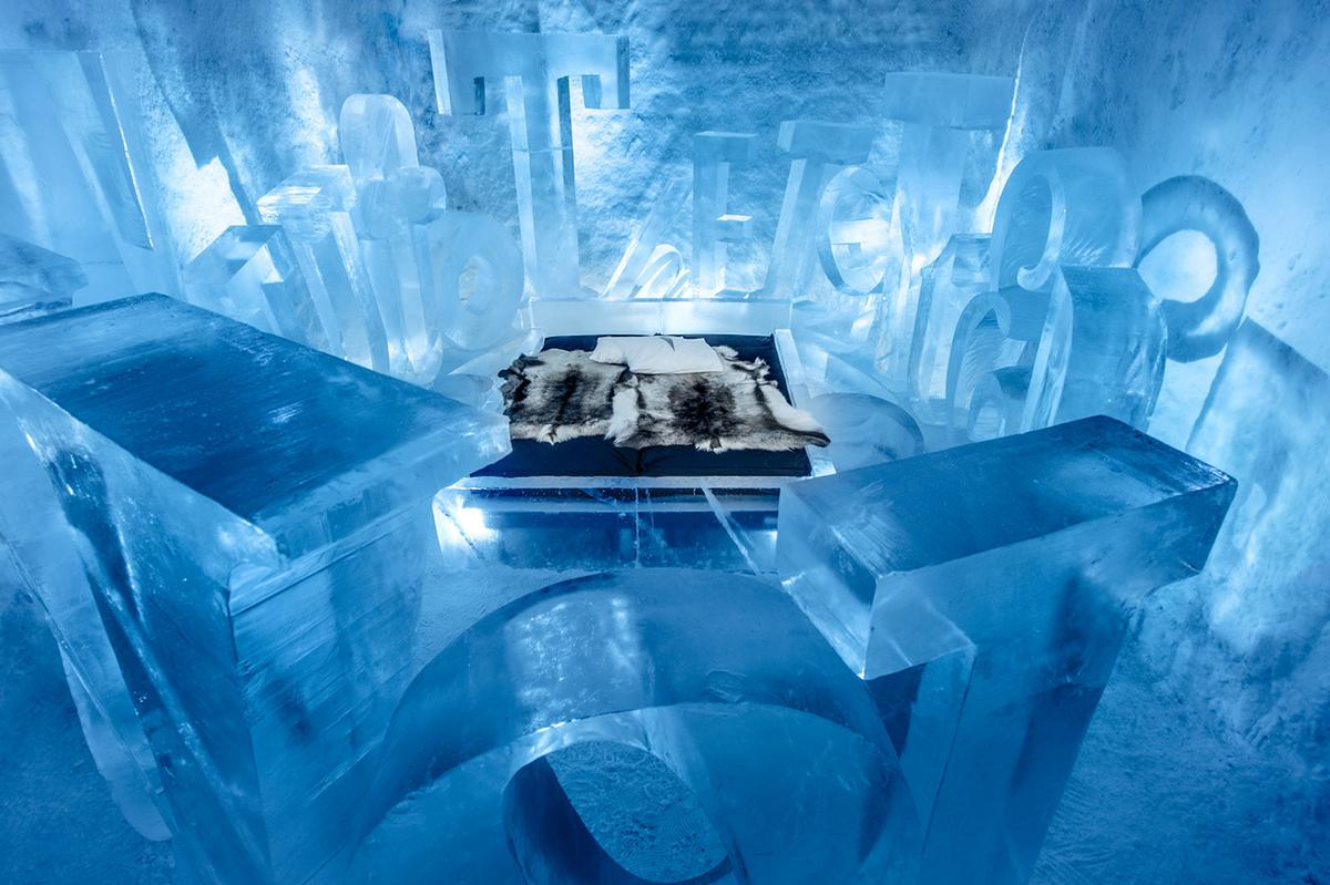 The temporary Icehotel will return as normal, creating a total of 55 rooms / Icehotel