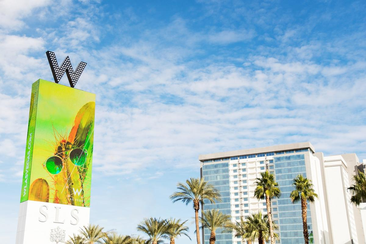 The W Hotel has taken over the SLS Las Vegas Tower, creating a new 'hotel in a hotel' / W Hotels