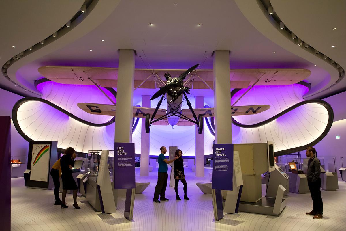 Zaha Hadid Architects' Mathematics Gallery is now open / Nick Guttridge