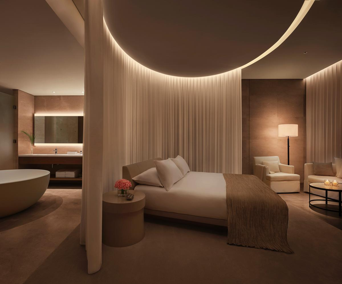 Designed by SCDA Architects with interiors by I.S.C. Design Studio/CAP Atelier, the Sanya Edition was inspired by the sea