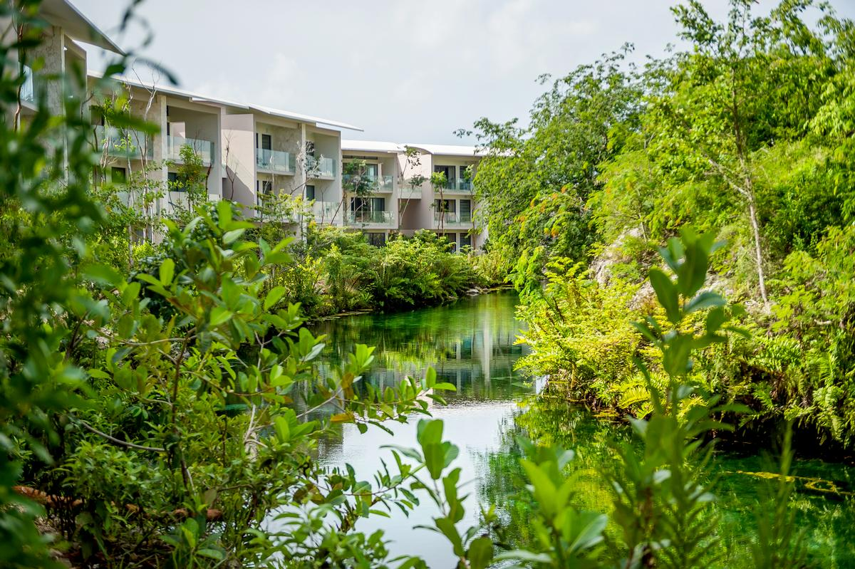Mayakoba is located on Mexico's south-east coast