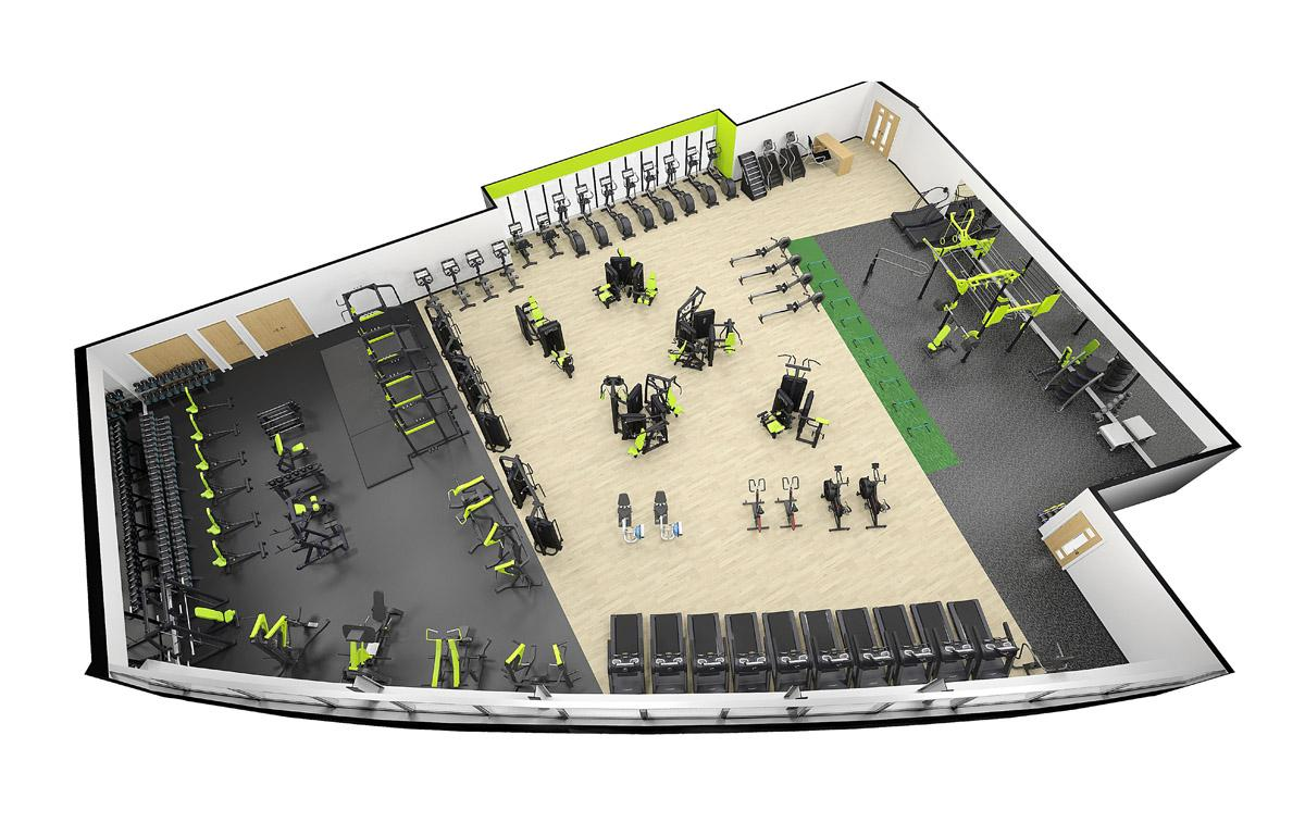 Pulse Fitness will be providing gym kit at the Portal, a new £18 million leisure centre