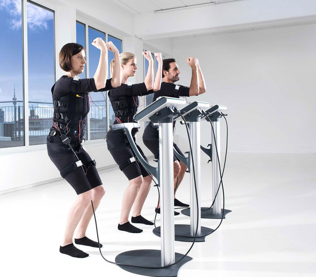 The Miha Bodytec system was developed by German engineers and is now being sold in more than 30 countries