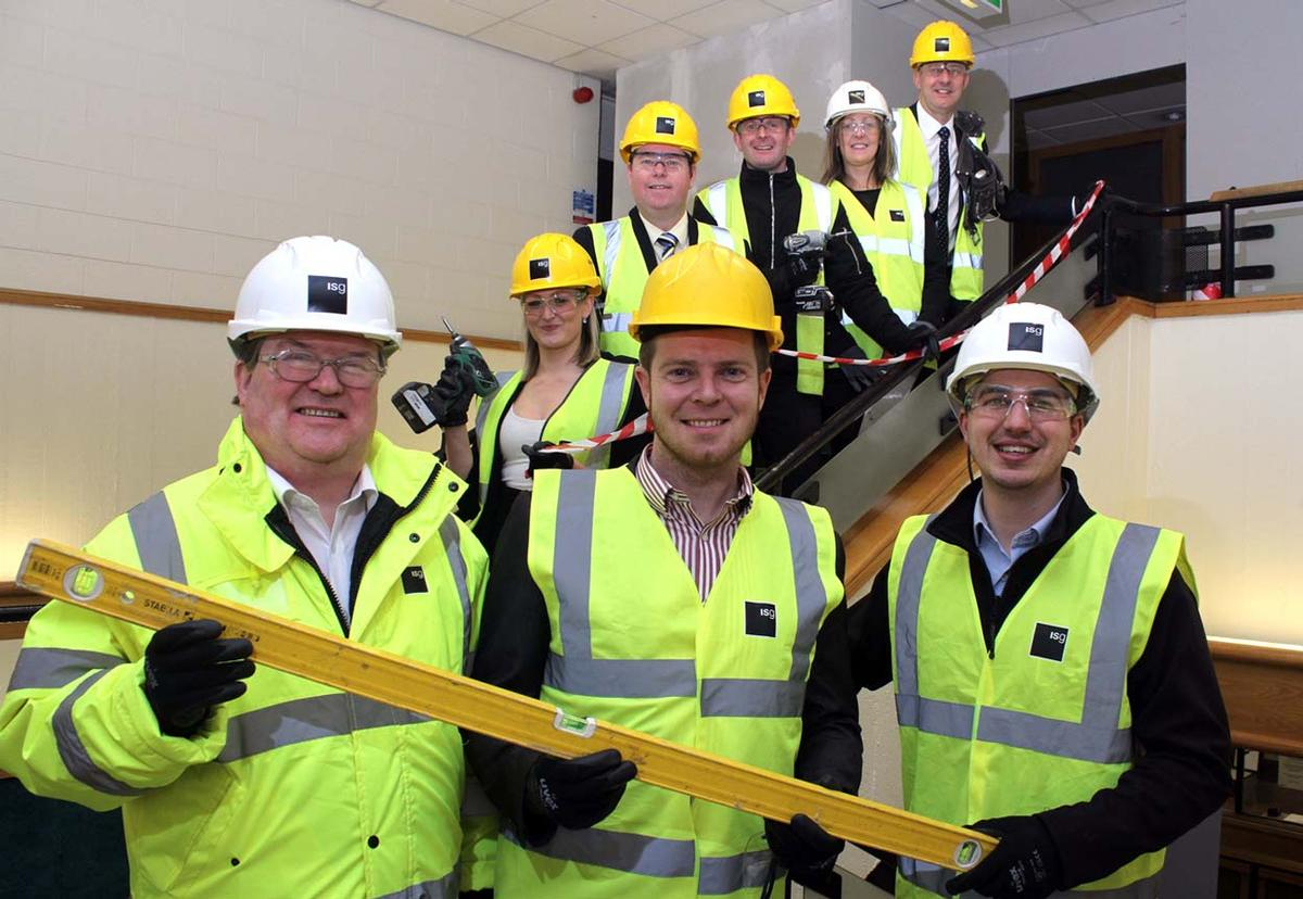 The first phase of construction work at Howe Bridge Sports Centre is underway