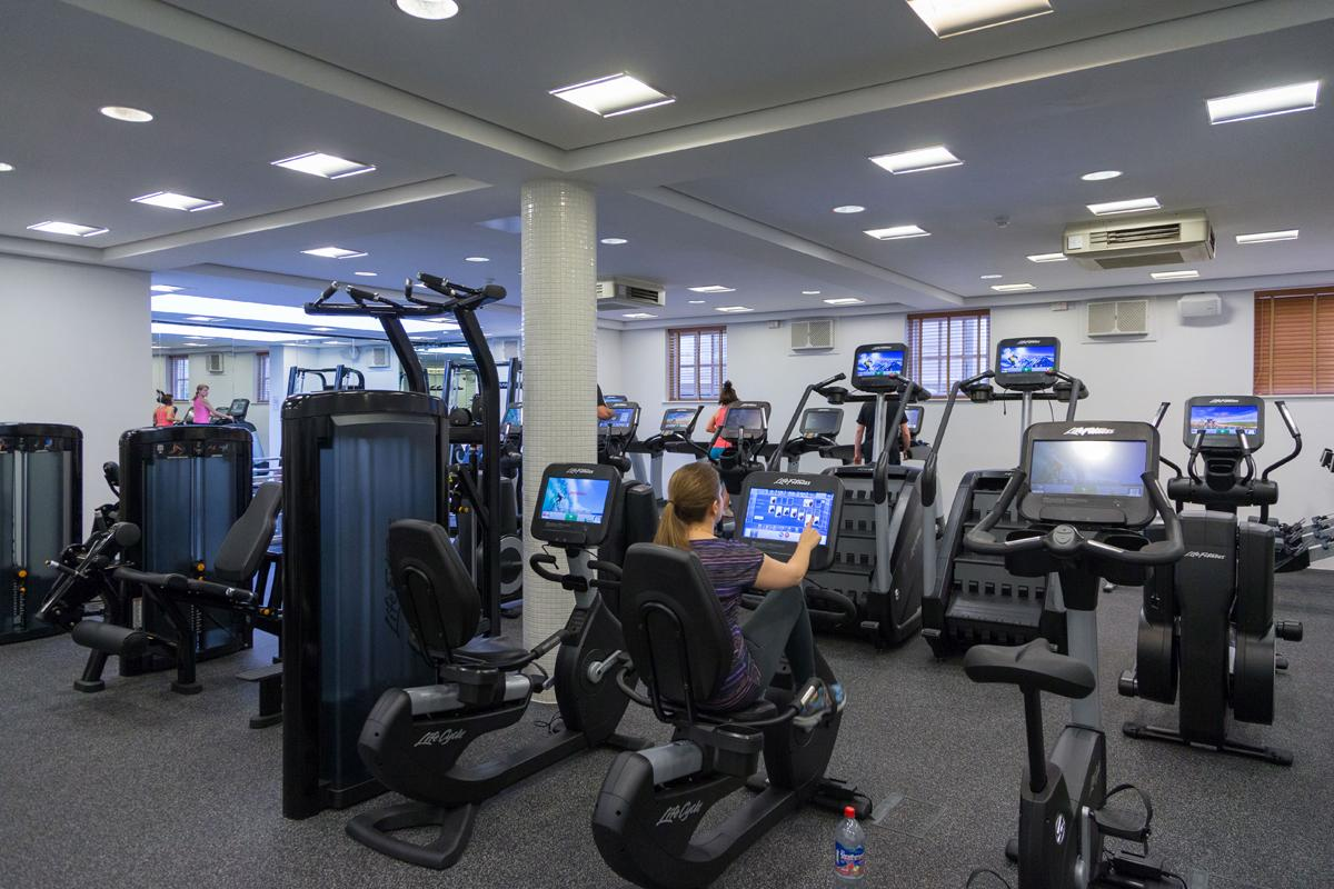 The addition of Life Fitness Discover SE consoles means gym members can now use technology to tailor and track their workouts
