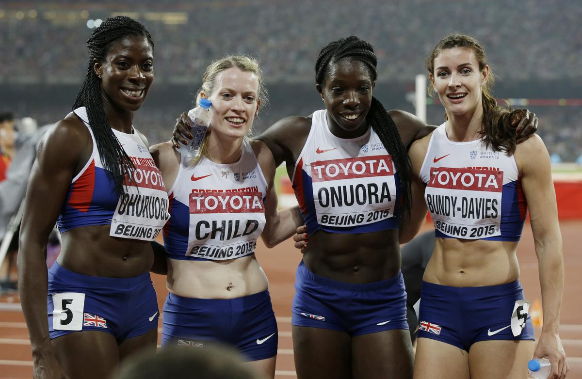 The 2017 World Athletics Championships is coming to London in 2017. Team GB won bronze during the women's 4x400m in Beijing in 2015 / Kin Cheung/AP/Press Association Images