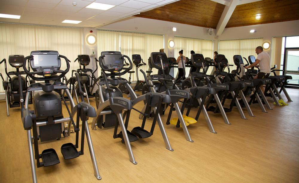 Oakengates incorporates more Cybex strength training equipment