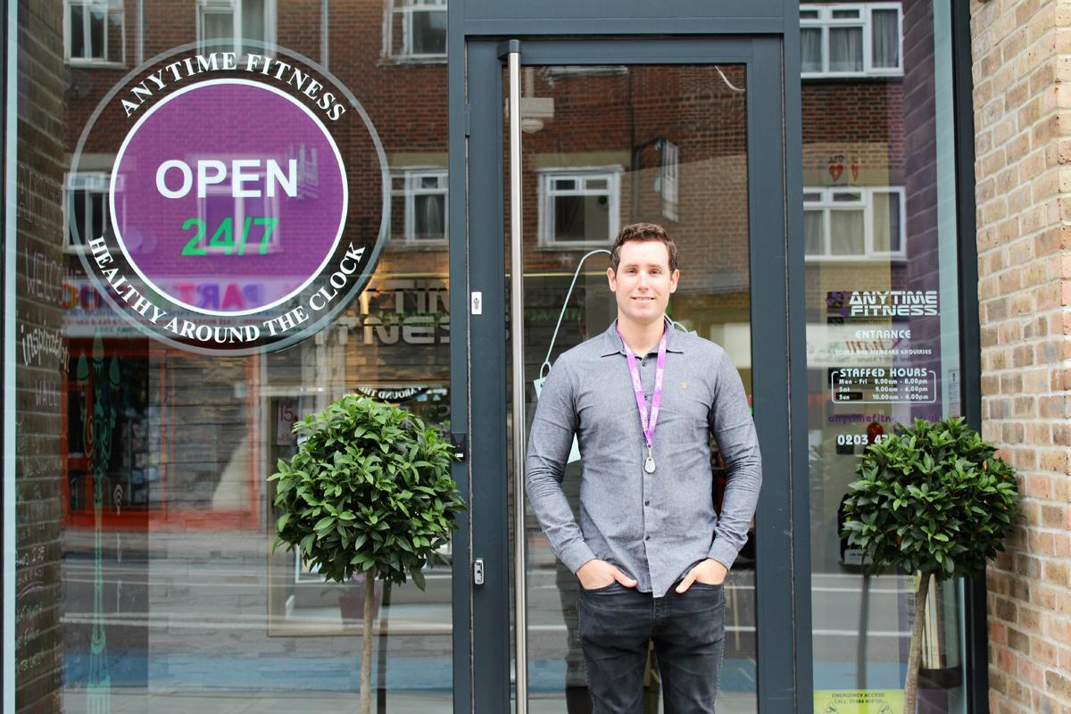 Franchise owner David O'Donnell has two London clubs