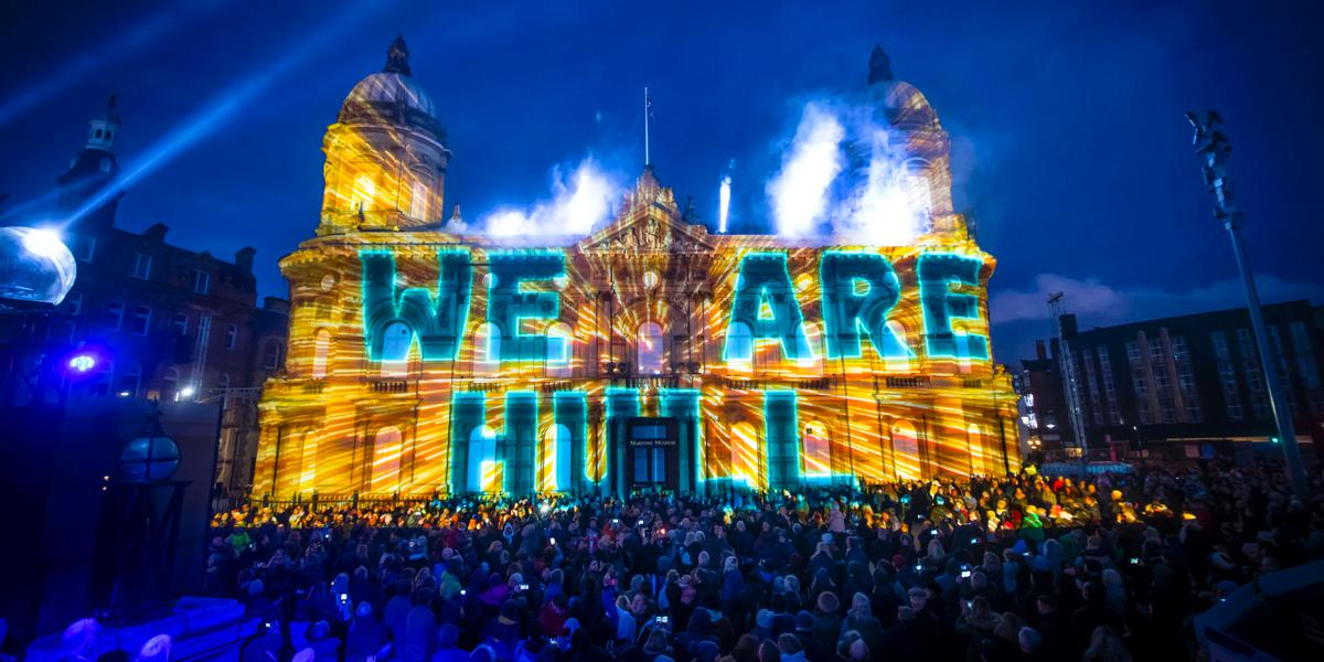 Hull is 2017's City of Culture, following on from Derry/Londonderry, which was the inaugural one in 2013