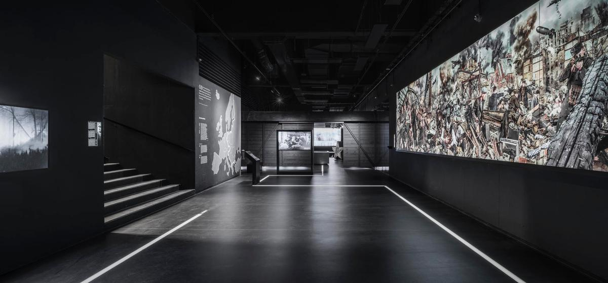 The museum explores the city's history of Nazi occupation, resistance against post-war Soviet communist authority / KWK Promes