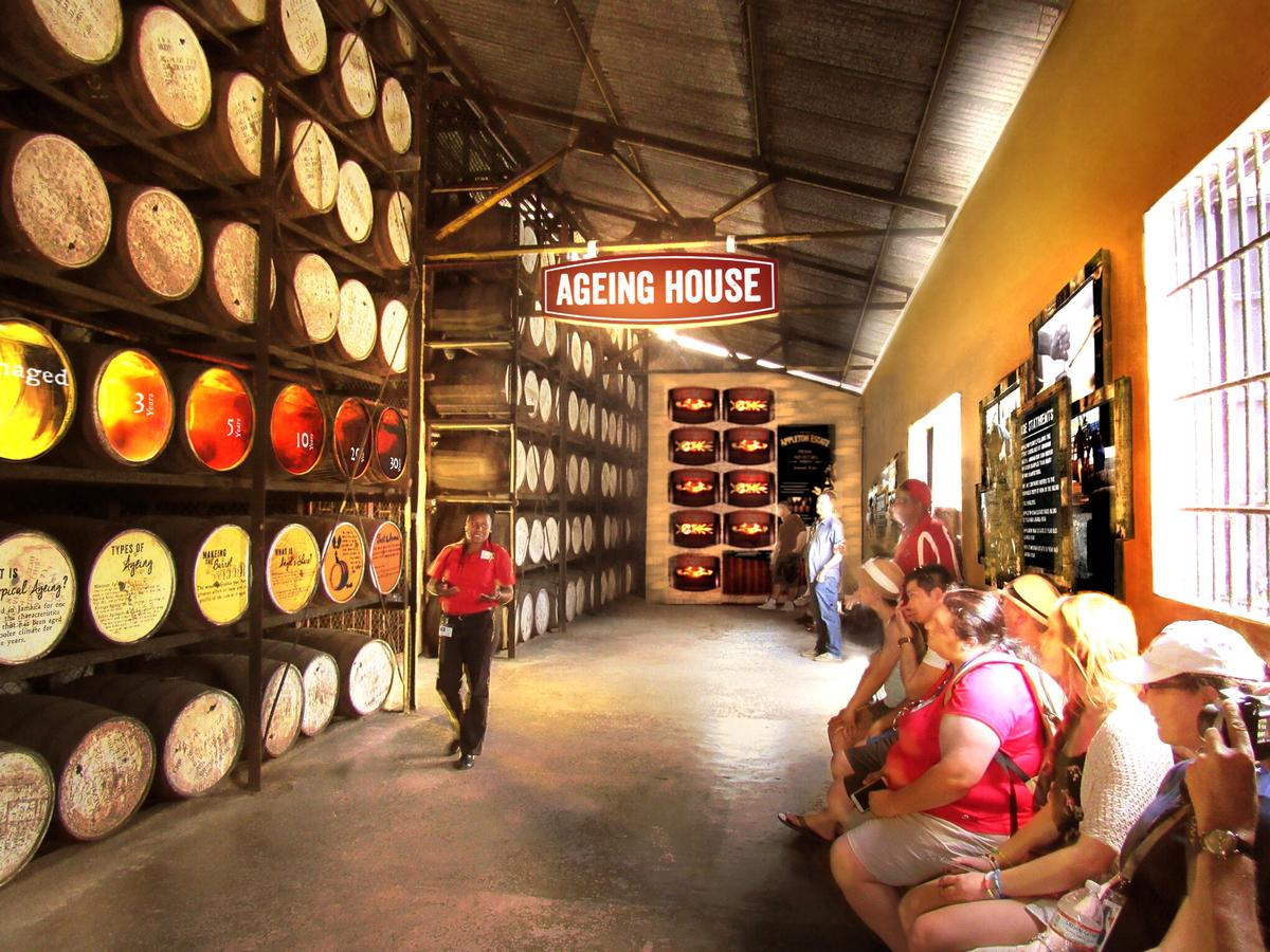 The tour will highlight the history and process of crafting a premium rum
