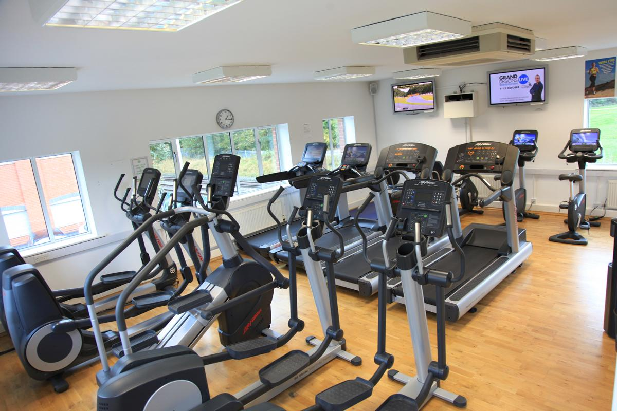 The investment saw the addition of several Life Fitness machines