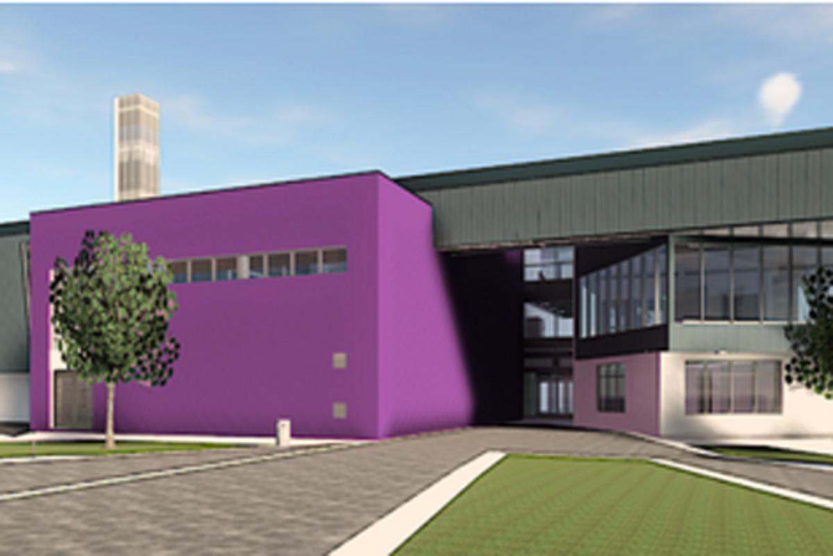 The leisure centre is due to open at the end of 2018.