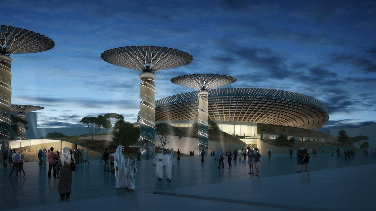 Architecture studio Grimshaw have revealed new images of their Sustainability Pavilion for the Dubai 2020 Expo / Grimshaw