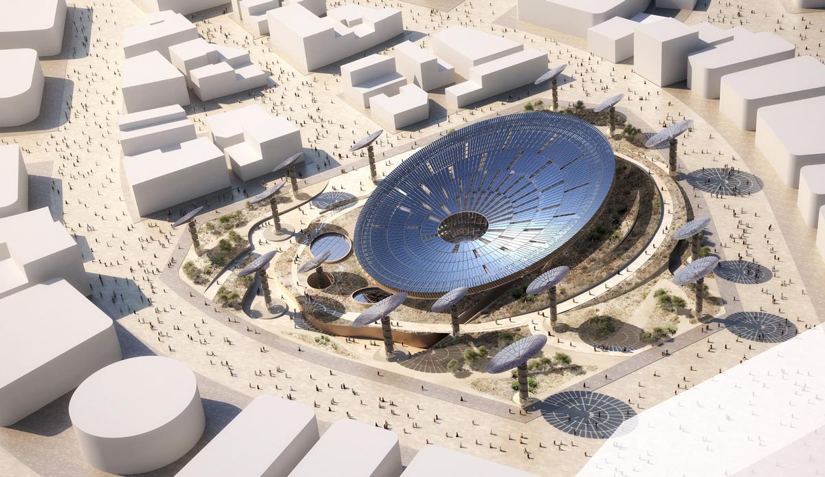 Grimshaw's Sustainability Pavilion for the Dubai 2020 Expo / Grimshaw