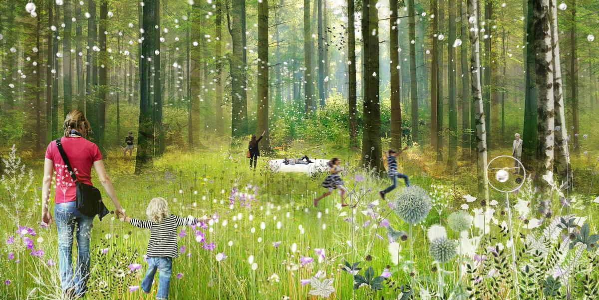 Soundcloud by architects Johanna Ballhaus and Helen Wyss / International Garden Festival/V2.com