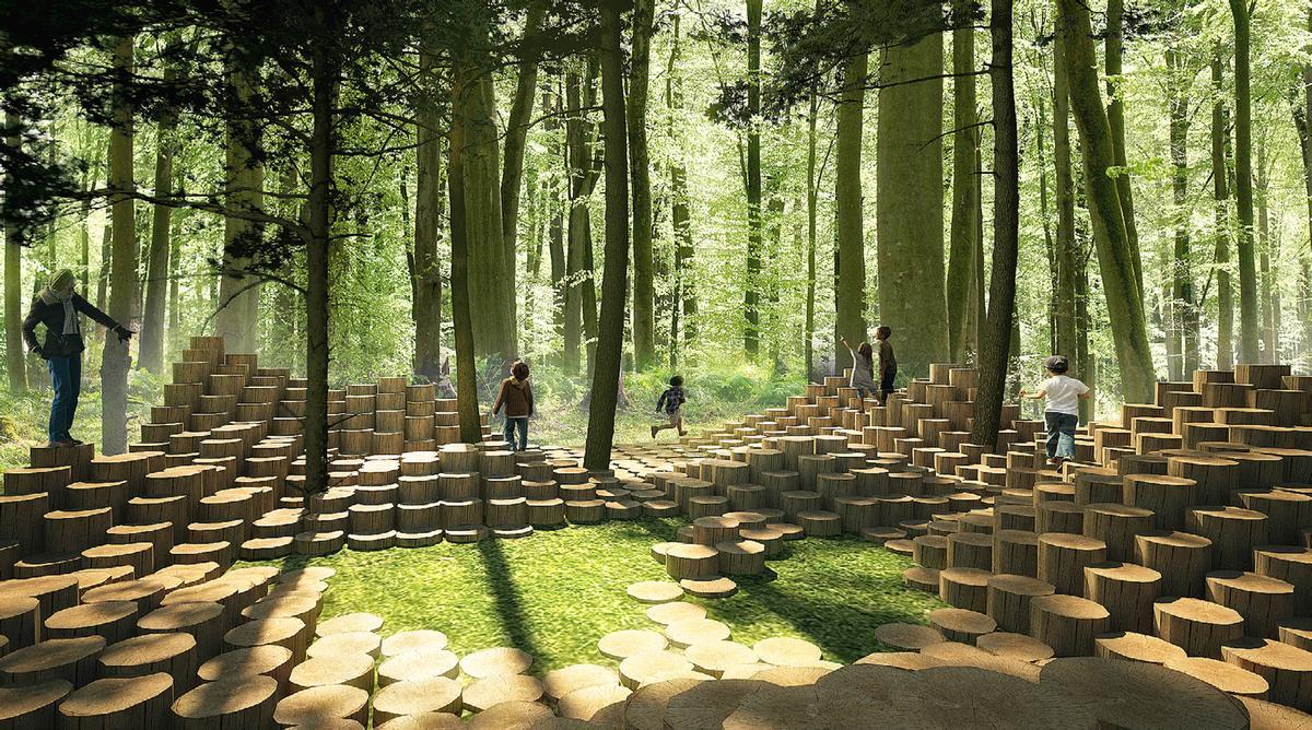 The Woodstock by Atelier Yok-Yoh / International Garden Festival/V2.com