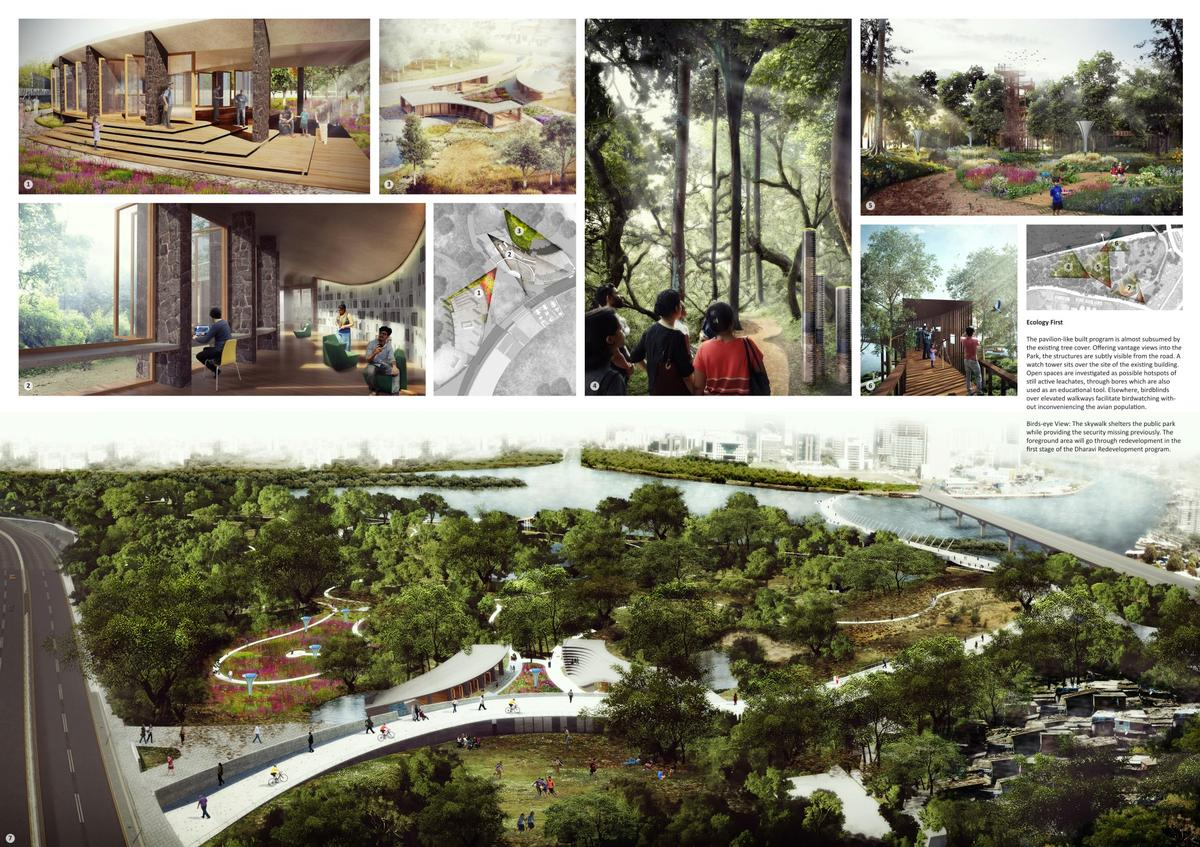 The masterplan will substantially expand the existing forest-like environment and boost its potential as a site for both tourism and nature education / Sameep Padora & Associates