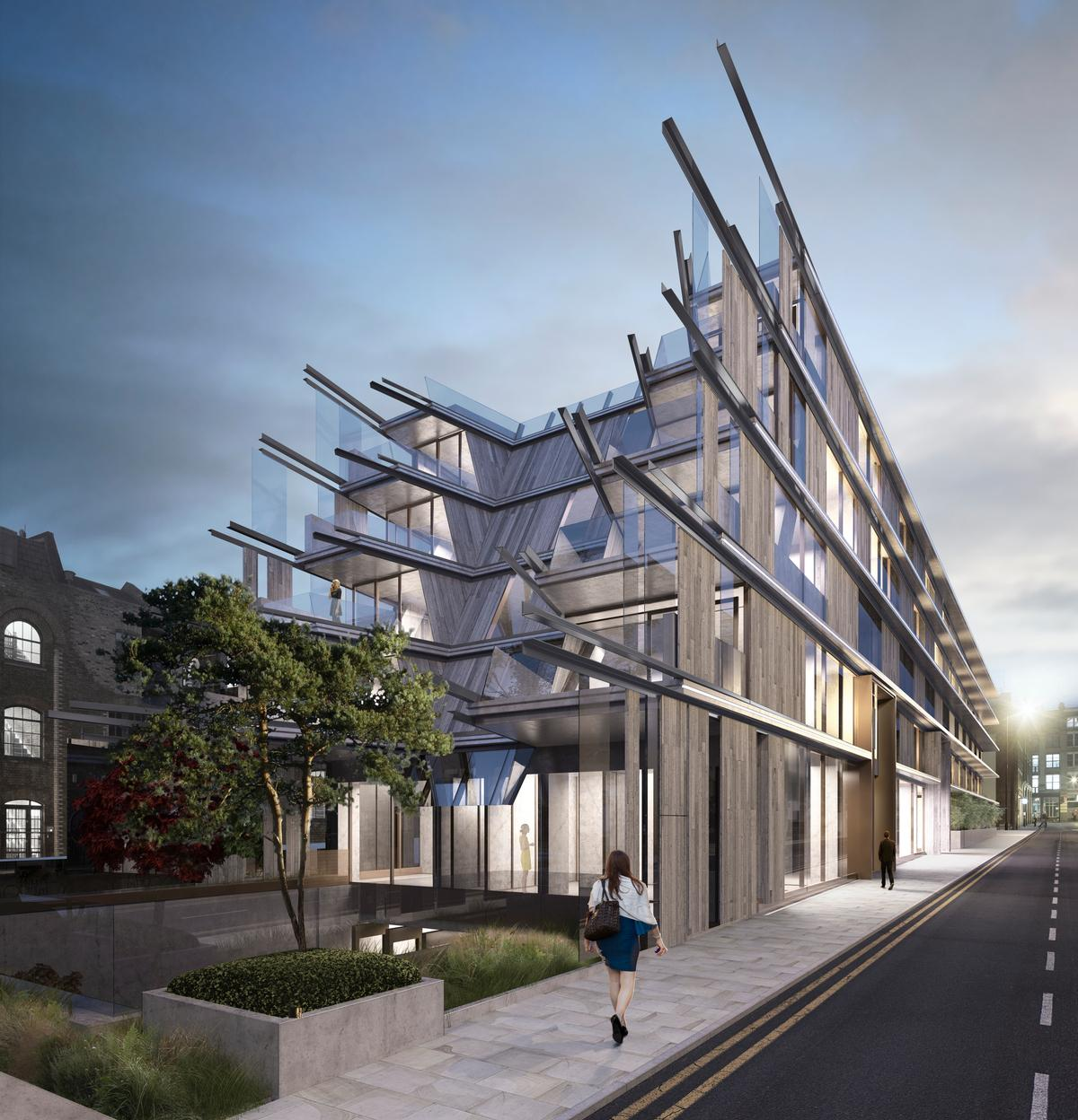 Ben Adams Architects have finalised the building's design / Ben Adams Architects