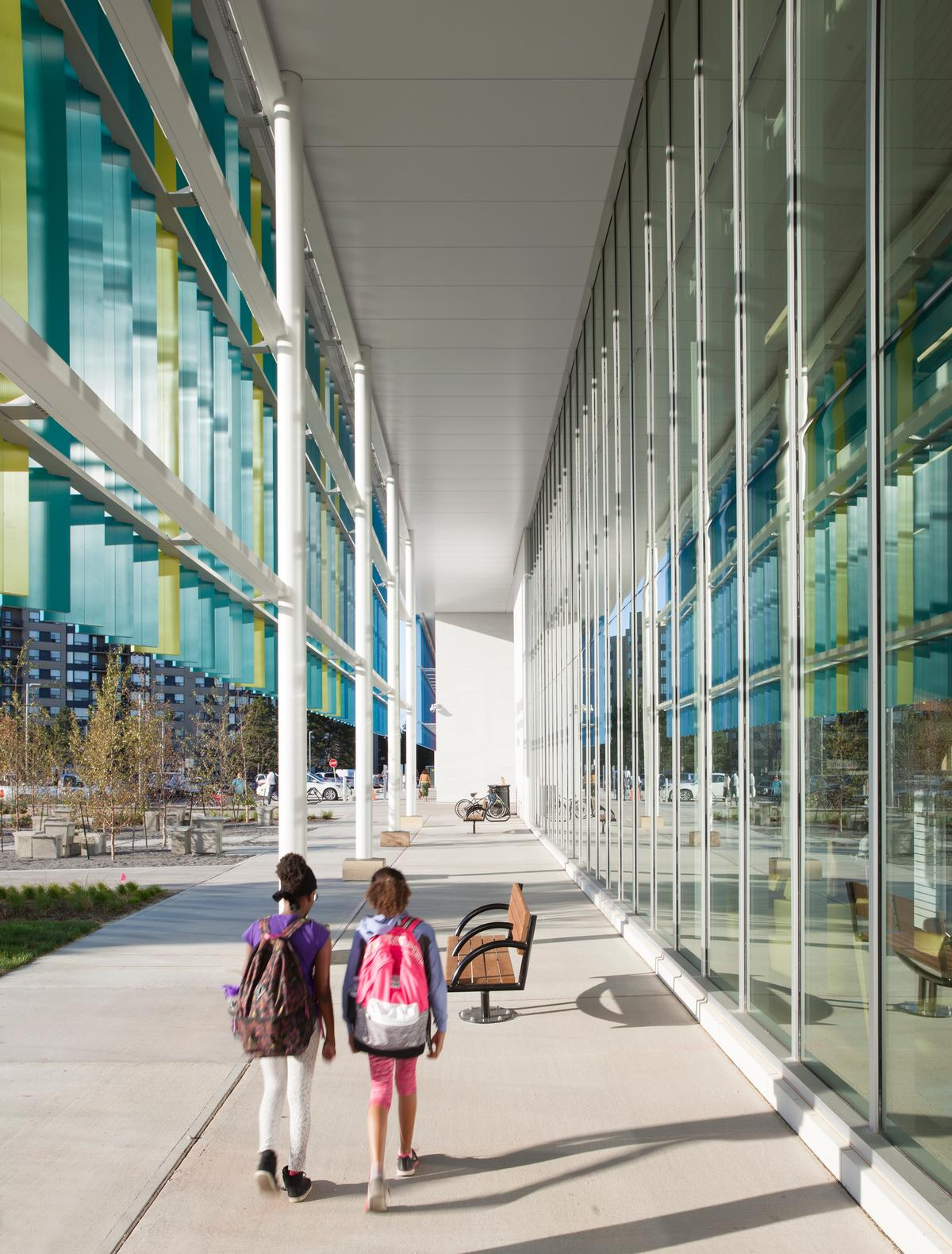 Perkins + Will engaged heavily with the community during the design process / Lisa Logan