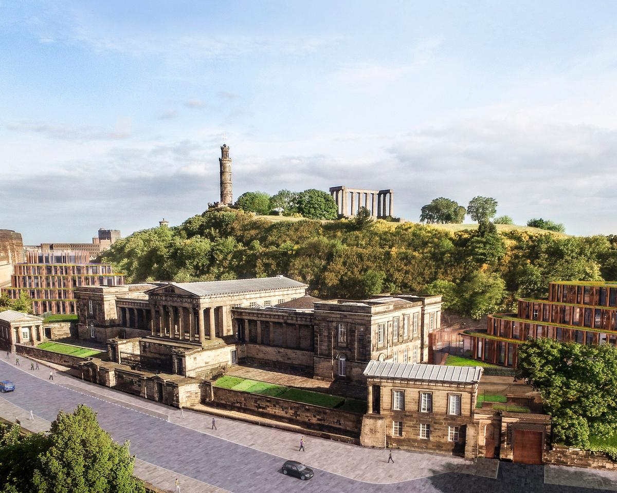 Hoskins will transform one of edinburgh s most important for Design hotel edinburgh