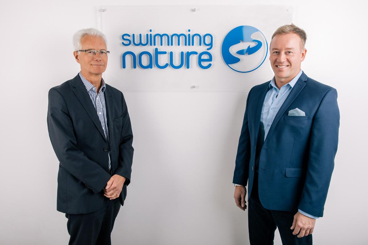 The pair join Swimming Nature during a time when the provider aims to become the 'leading authority on aquatic provision'
