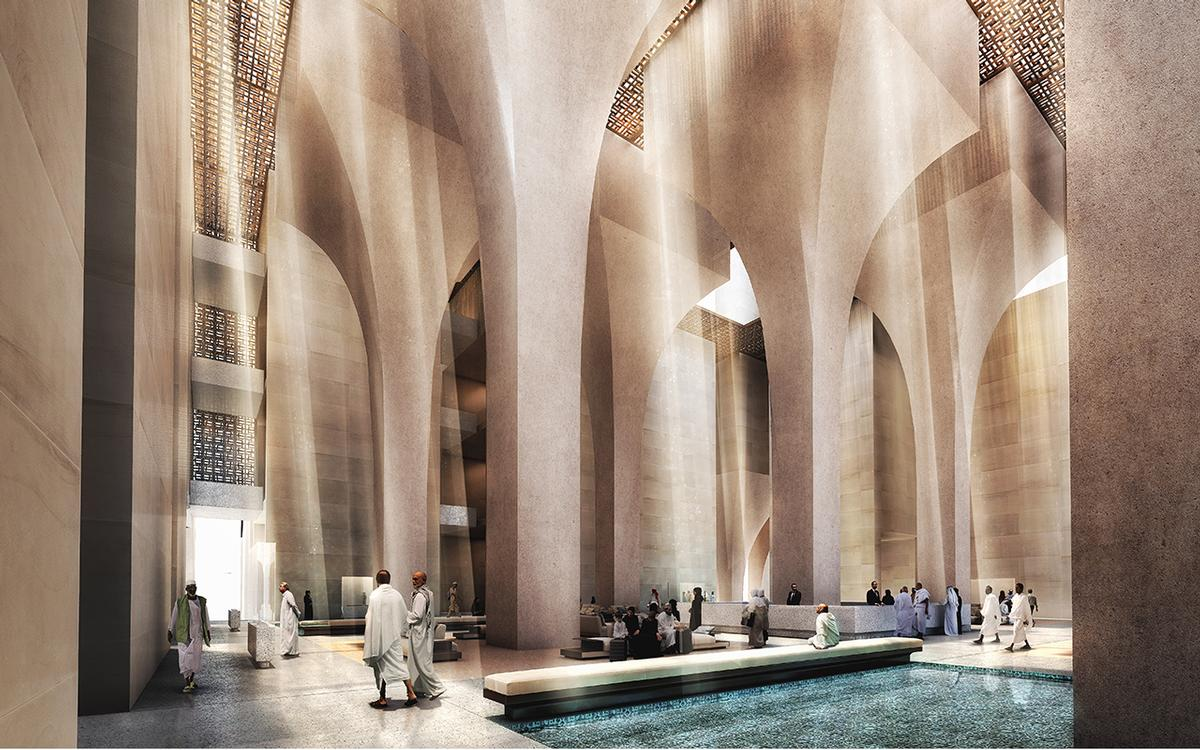 The Design Concept Is Inspired By Traditional Arab Architecture Foster Partners