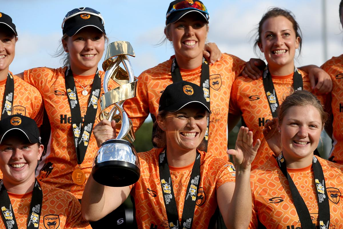 Southern Vipers were the winners if the inaugural Super League / Steve Paston/PA Wire/PA Images