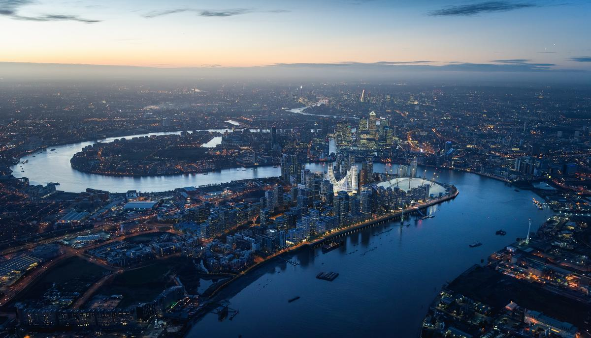The £1bn project is a landmark for London's Greenwich Peninsula / Uniform