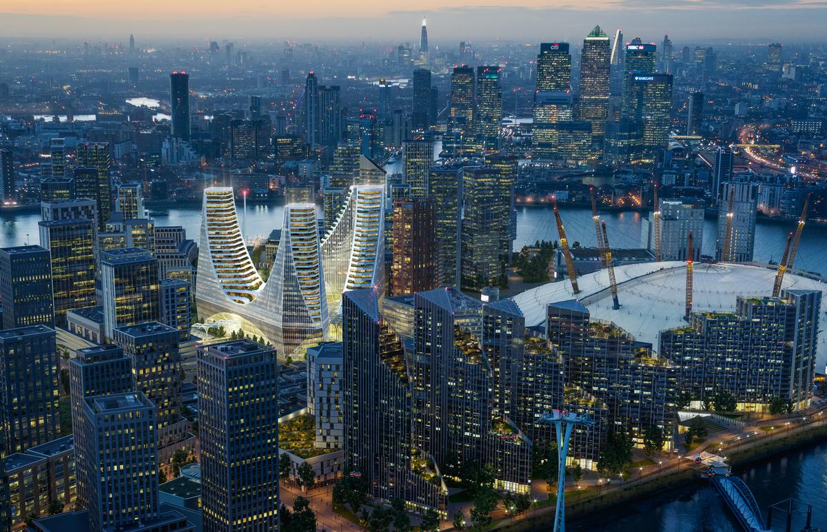Calatrava has unveiled a typically large-scale and sculptural landmark / Uniform