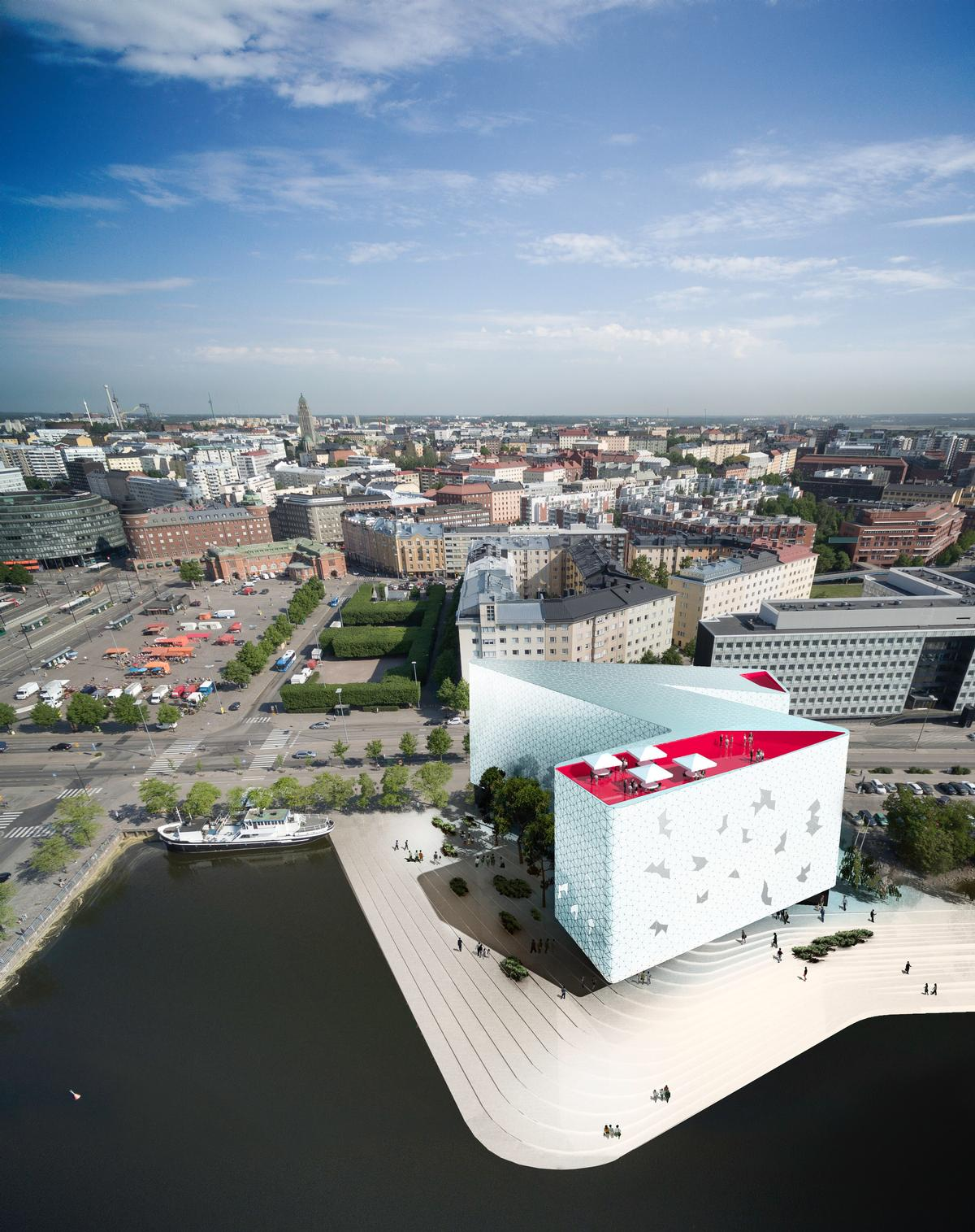 Sn Hetta Wins Competition To Design Hilbert S Hotel In