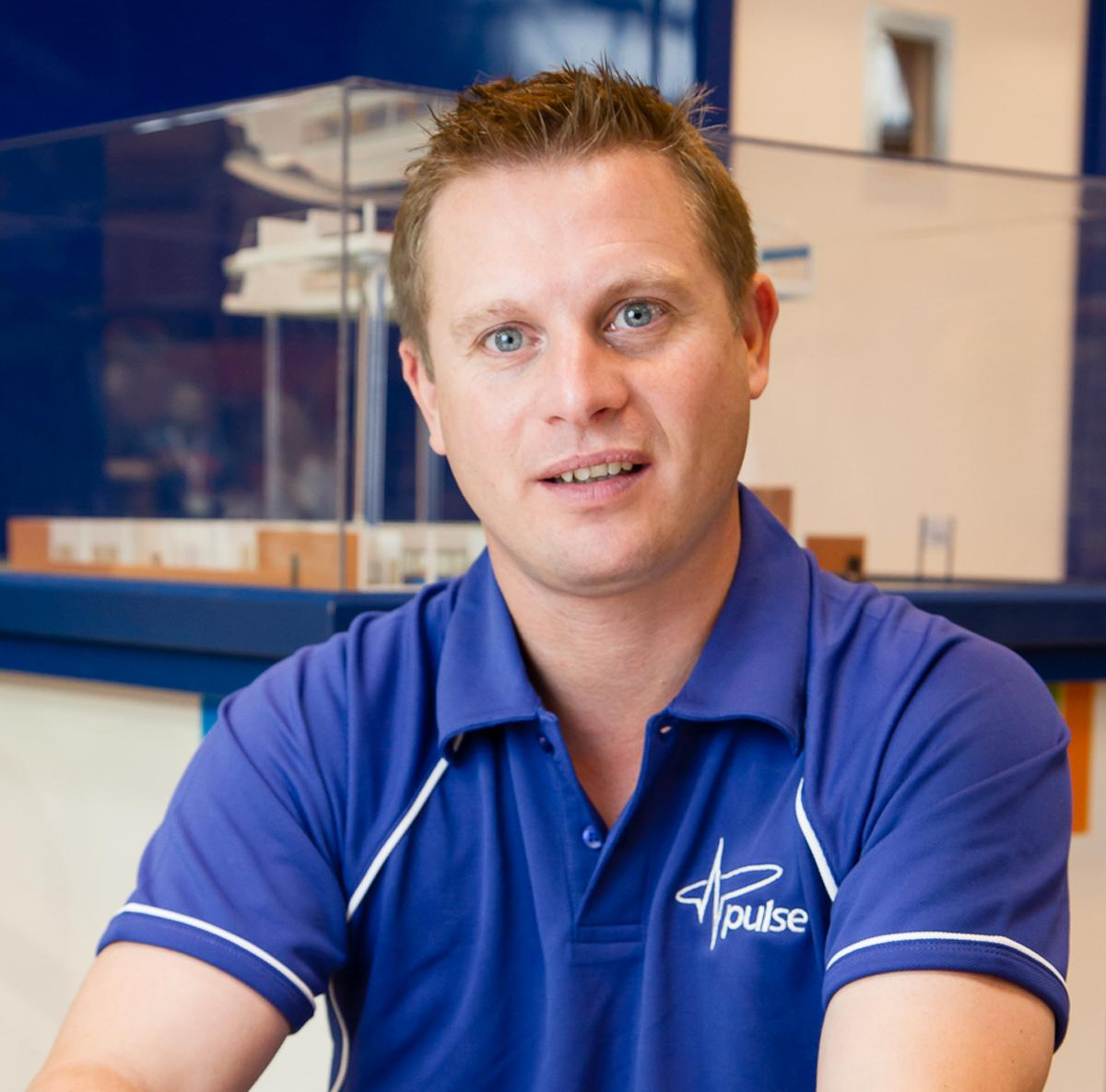 Pulse's Richard Sheen hopes to continue to work with Basingstoke Sports Trust in the future