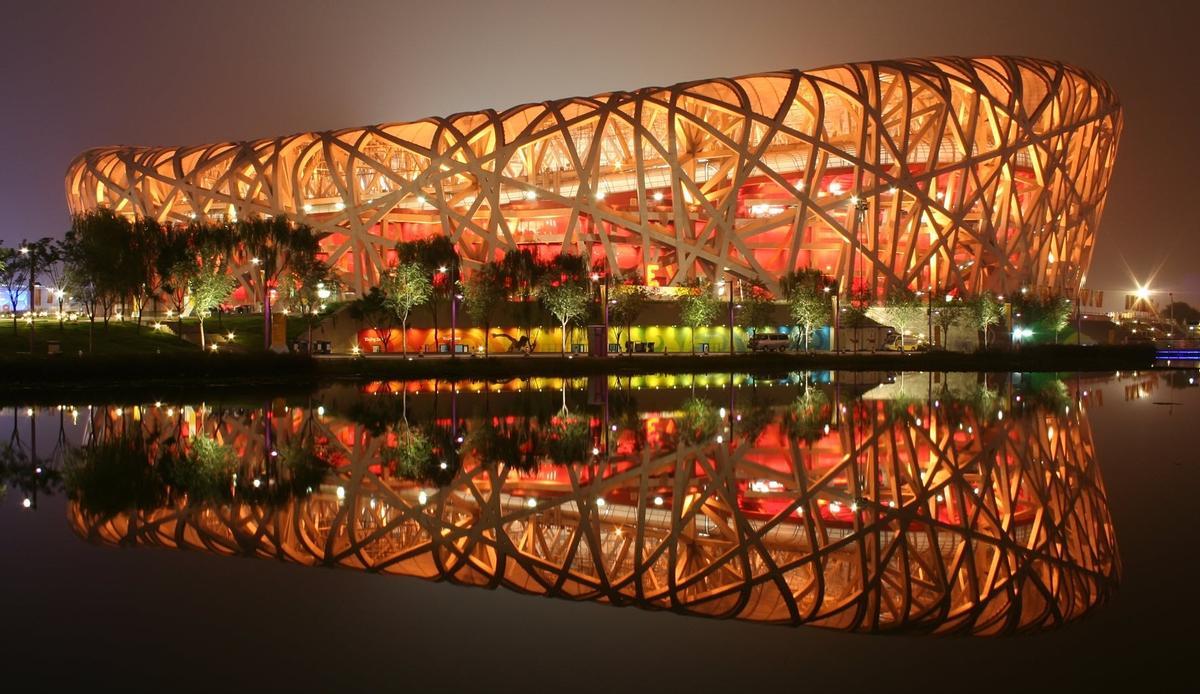 Amber Perkins Wiki beijing's bird's nest stadium opens rooftop walkway